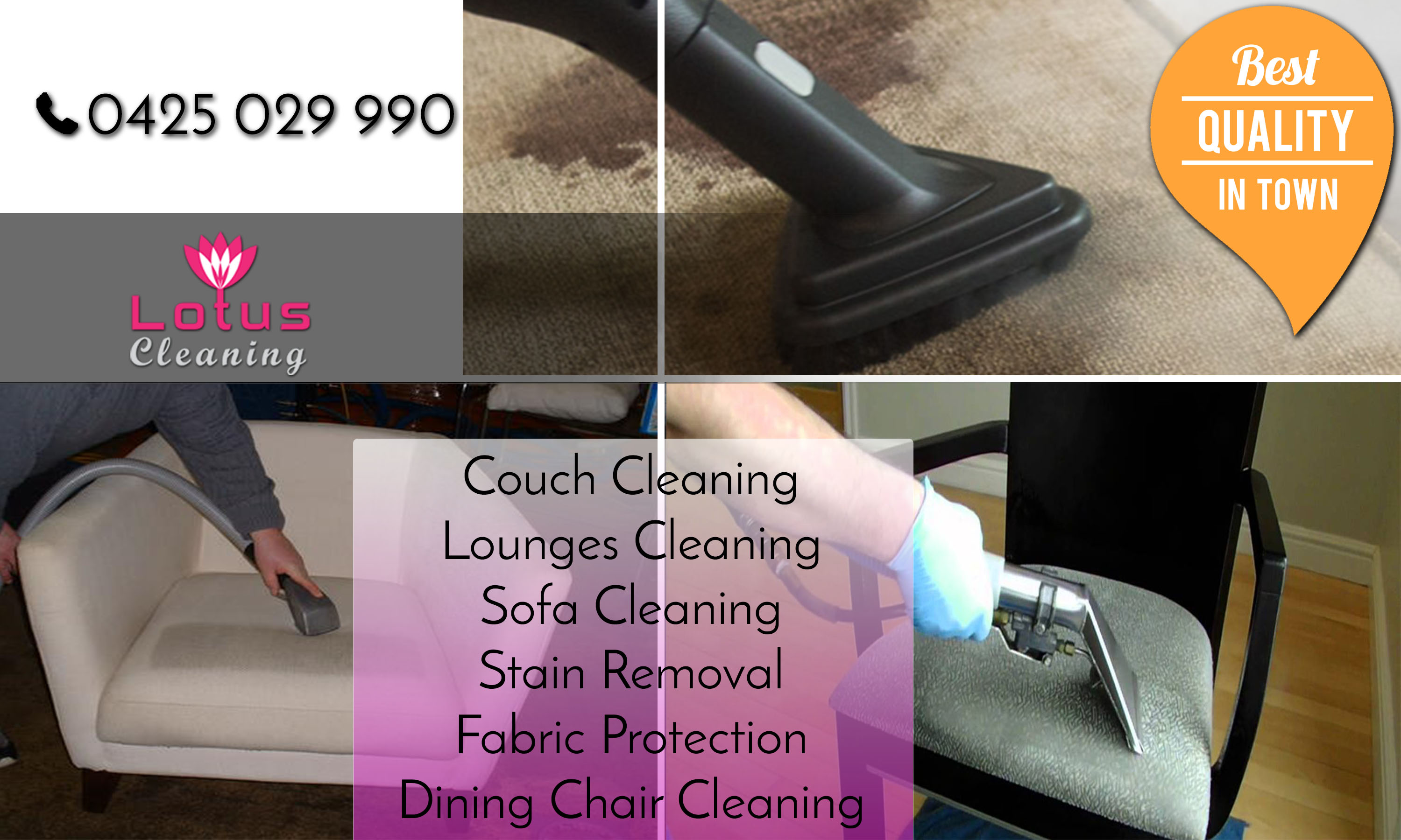 Upholstery Cleaning Australia
