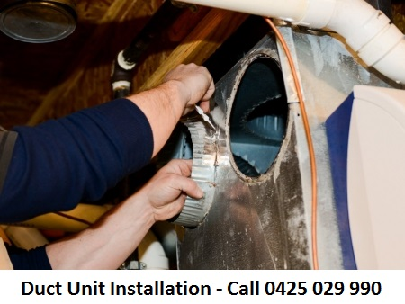 Duct Installation Point Lonsdale